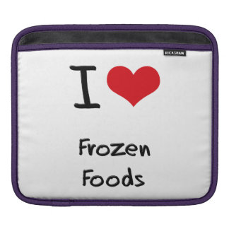 Amo las comidas congeladas manga de iPad