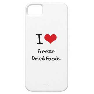 Amo las comidas liofilizadas iPhone 5 Case-Mate cobertura