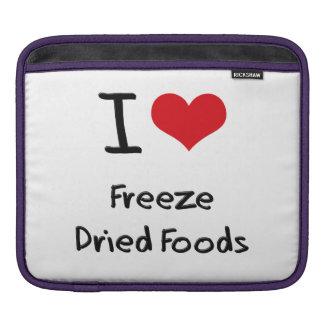 Amo las comidas liofilizadas mangas de iPad