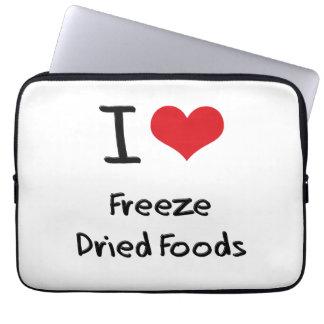 Amo las comidas liofilizadas fundas computadoras