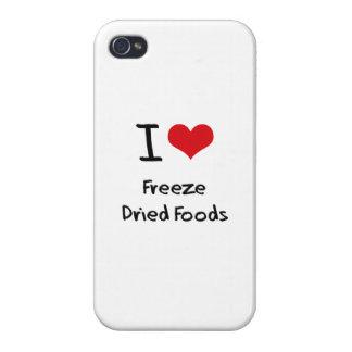 Amo las comidas liofilizadas iPhone 4 protector