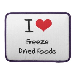 Amo las comidas liofilizadas funda macbook pro