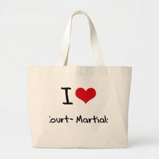 Amo las cortes marciales bolsas