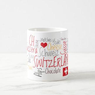 Amo las cosas suizas preferidas de Suiza Taza
