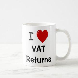 Amo las devoluciones del IVA - taza del