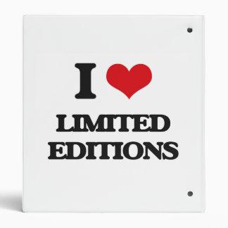 Amo las ediciones limitadas