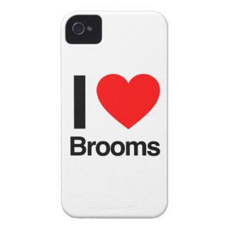 amo las escobas Case-Mate iPhone 4 cárcasas