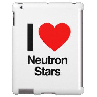 amo las estrellas de neutrón funda para iPad