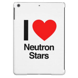 amo las estrellas de neutrón funda para iPad air