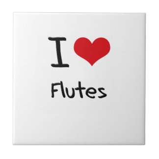 Amo las flautas tejas  ceramicas