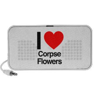 amo las flores del cadáver iPod altavoz