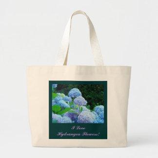¡Amo las flores del Hydrangea! Días de fiesta de Bolsa