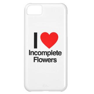 amo las flores incompletas funda para iPhone 5C