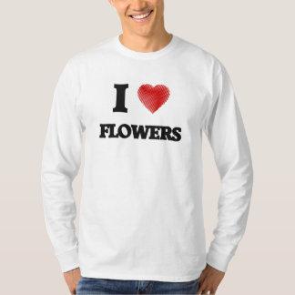 Amo las flores playera