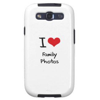 Amo las fotos de familia galaxy s3 protectores