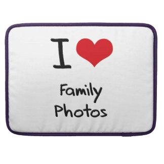 Amo las fotos de familia fundas para macbook pro