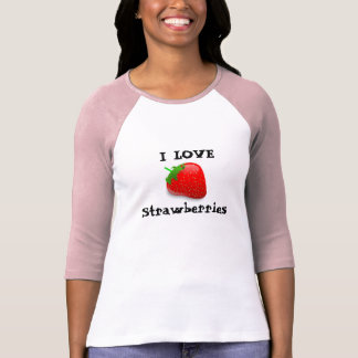 Amo las fresas t-shirts