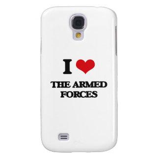 Amo las fuerzas armadas de arma funda para galaxy s4