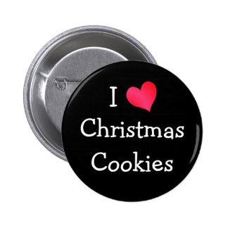Amo las galletas del navidad pin