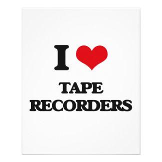 Amo las grabadoras tarjetón