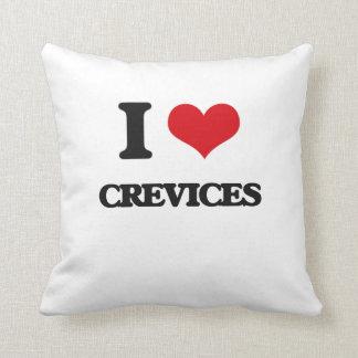 Amo las grietas almohadas