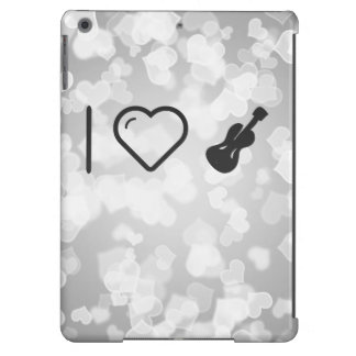 Amo las guitarras bajas funda para iPad air