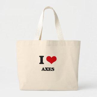 Amo las hachas bolsas