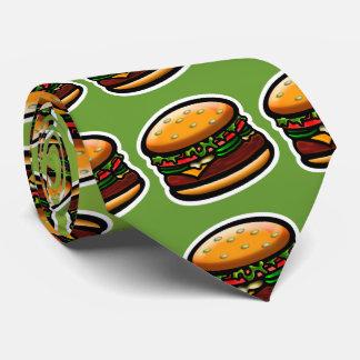 ¡Amo las hamburguesas! Corbatas Personalizadas