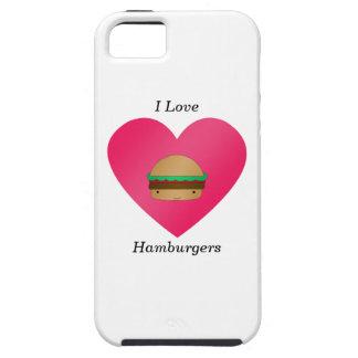 Amo las hamburguesas iPhone 5 Case-Mate protector