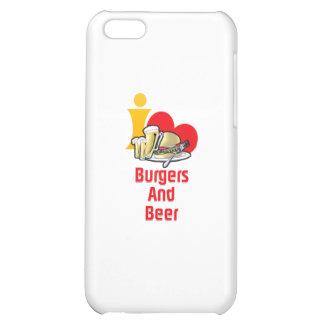 Amo las hamburguesas y la cerveza