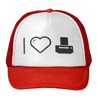 Amo las impresoras de papel gorras