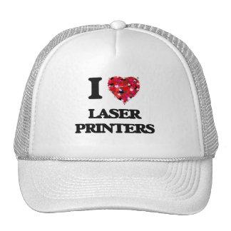 Amo las impresoras laser gorros