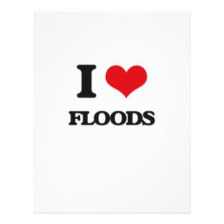 AMO las inundaciones Tarjeton
