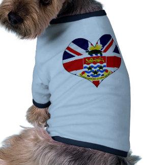 Amo las Islas Caimán Camisetas Mascota