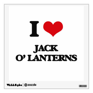 Amo las linternas de Jack O