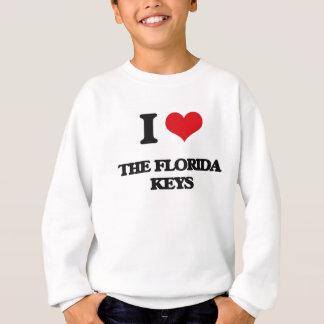 Amo las llaves de la Florida Playeras