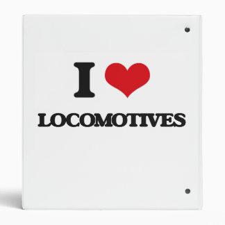 Amo las locomotoras