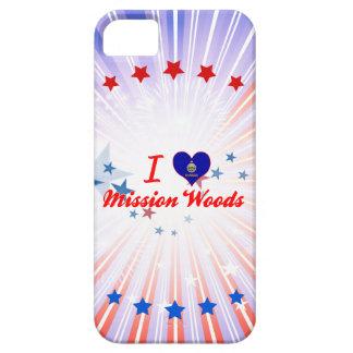 Amo las maderas de la misión, Kansas iPhone 5 Cárcasas