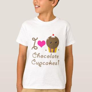 Amo las magdalenas del chocolate poleras