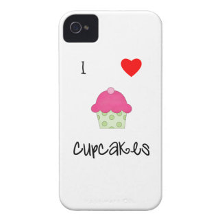 Amo las magdalenas iPhone 4 cárcasa