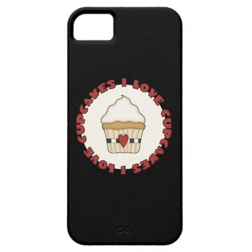 Amo las magdalenas iPhone 5 Case-Mate protectores