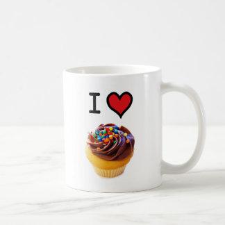 Amo las magdalenas taza de café