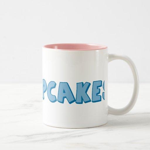 Amo las magdalenas tazas de café