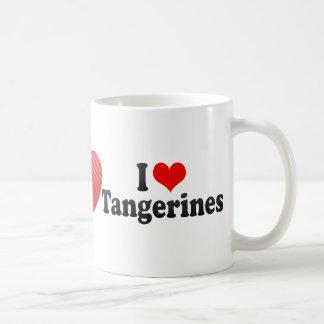 Amo las mandarinas taza