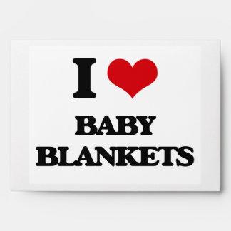 Amo las mantas del bebé