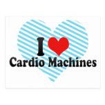 Amo las máquinas cardiias postales