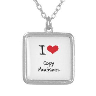 Amo las máquinas de la copia collares