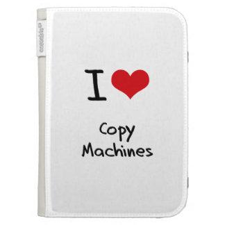 Amo las máquinas de la copia
