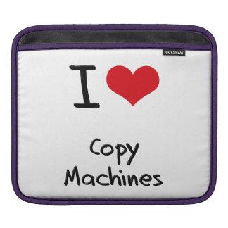 Amo las máquinas de la copia mangas de iPad
