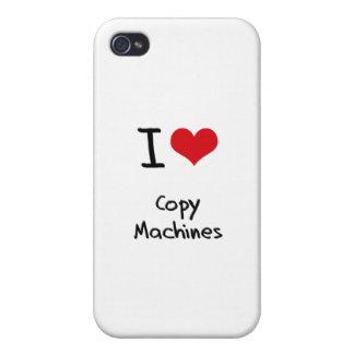 Amo las máquinas de la copia iPhone 4 fundas